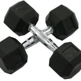 Hexa Dumbbells - Focus Fitness - 2 x 10 kg